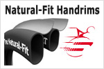 Natural Fit Handrims!