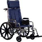 Invacare Reclining Wheelchairs