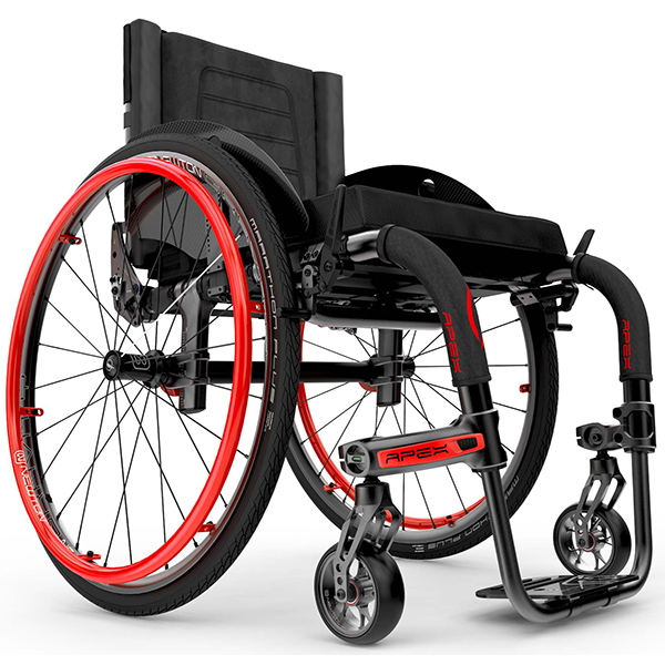 Apex Ultra Lightweight Rigid Wheelchair on SALE!
