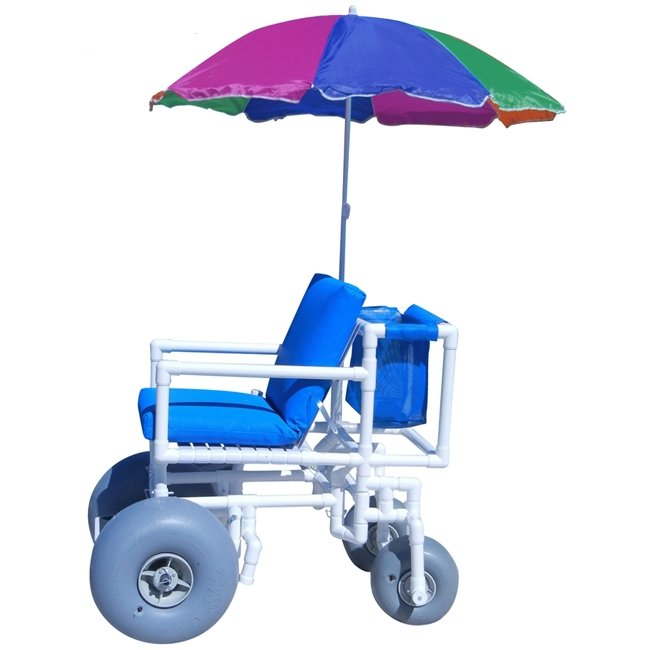 Aqua Creek Beach Access Chair - Umbrella Included
