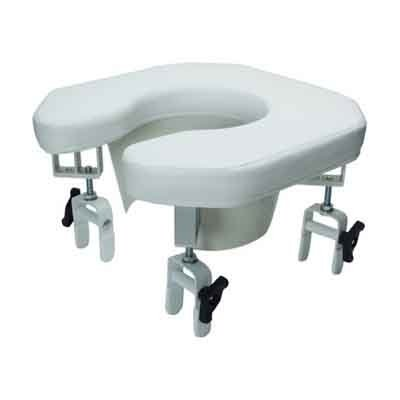 how to open blocked toilet seat