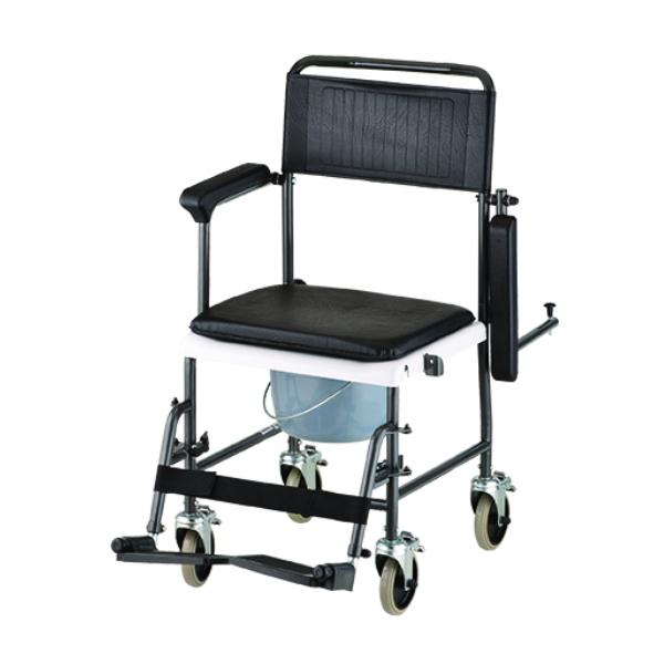 Nova Drop-Arm Shower/Commode Transport Chair on Sale