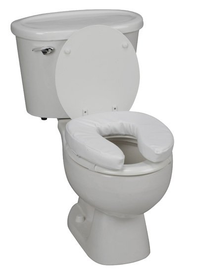 black padded toilet seat. 2  Padded Toilet Seat Cushion View Detailed Images International Shipping Cover on Sale with 120 Low Price