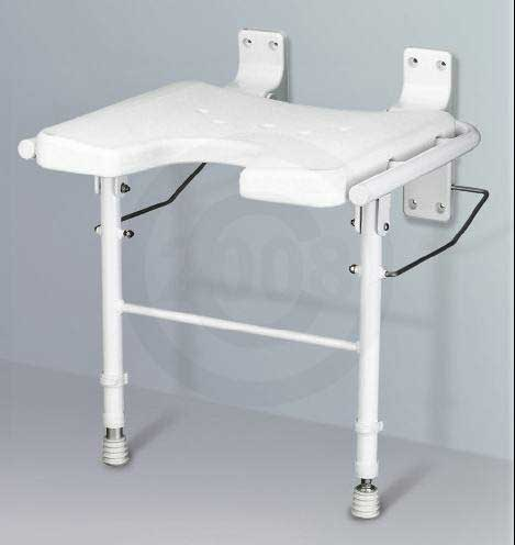 Nova Wall Mounted Shower Seat. View Detailed Images. International Shipping