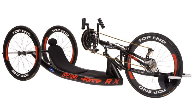 Invacare Top End Force Rx Handcycle With Adjustable Carbon