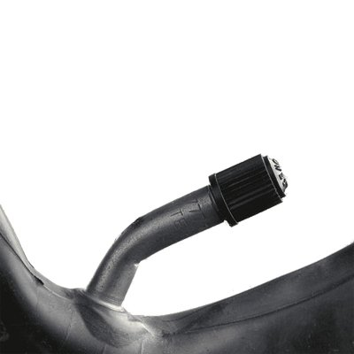 """Wheelchair Front Tube 8"""" x 1-1/4"""" with 45° Valve Stem"""