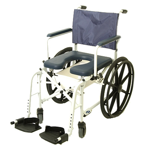"""Invacare Mariner Rehab Shower/Commode Chair - 18"""" Wide"""