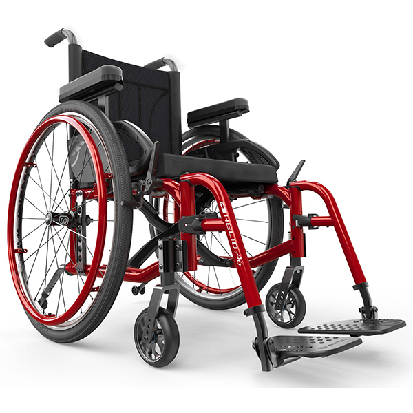 Helio A6 Lightweight Folding Wheelchair