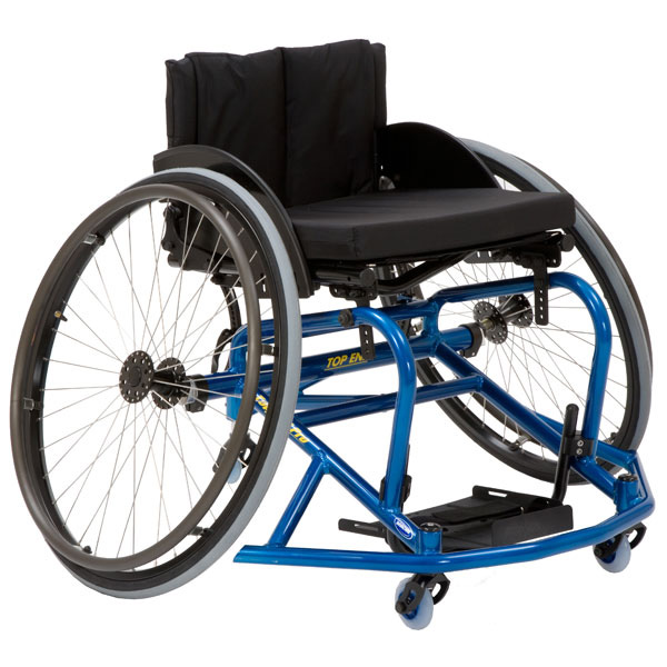 Overview of the Top End Pro Basketball Wheelchair
