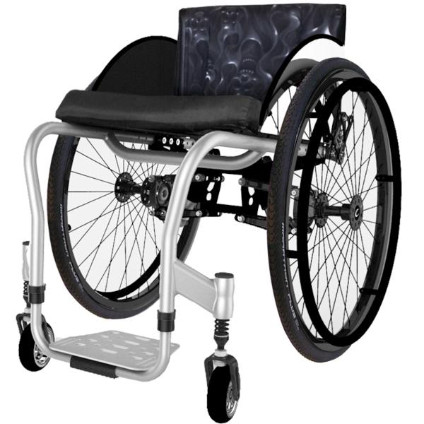 Colours ShockBlade Wheelchair