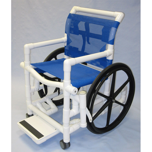 Aqua Creek PVC Pool Access Chair w/Mesh Seat