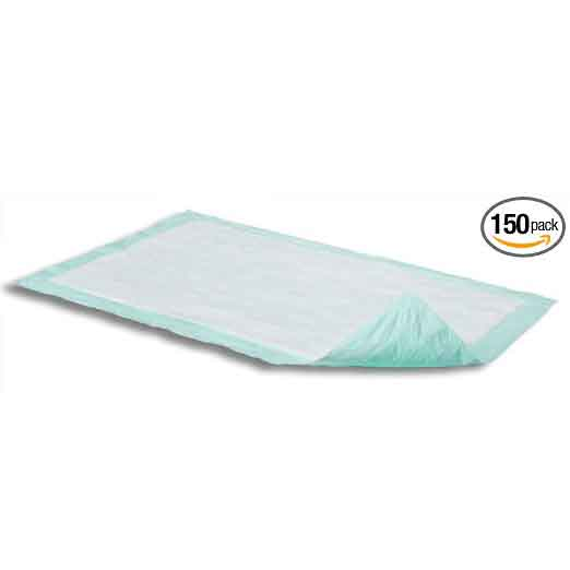 Attends Dri-Sorb Plus Underpads Bx/15 bags of 10