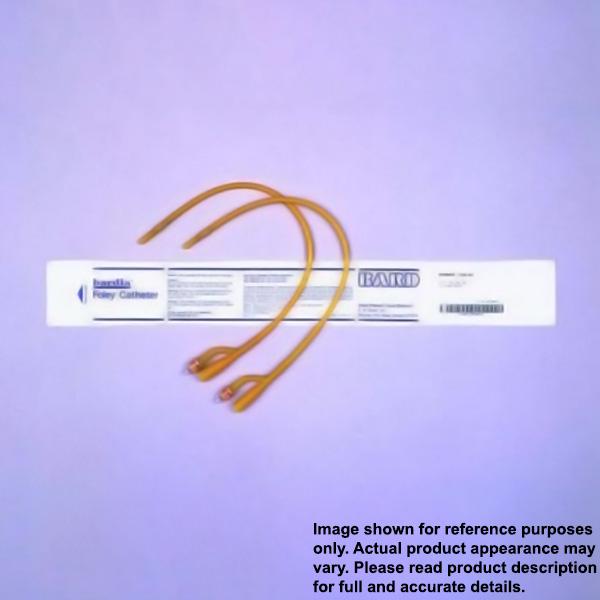 Bardex All Silicone Foley Catheters 5cc 12-28 Fr