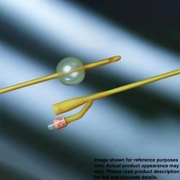 Bardex Lubricath Coude Foley Catheter 30cc 16-18 Fr