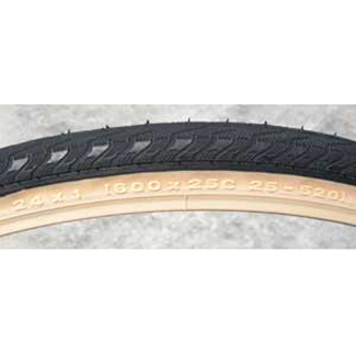 "Panaracer 24"" x 1"" (25-520) Clincher Handcycle Tires - 250g"