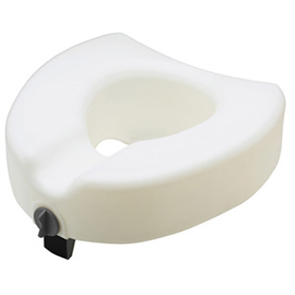 Locking Raised Toilet Seat