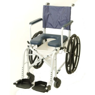 "Invacare Mariner Rehab Shower/Commode Chair - 16"" Wide"