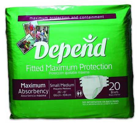 Depend Maximum Protection Fitted Brief