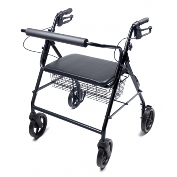 Lumex Walkabout Four-Wheel Imperial Bariatric Rollator