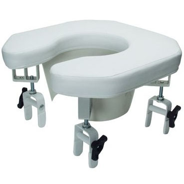 Lumex Open Padded Raised Toilet Seat On Sale With 120 Low