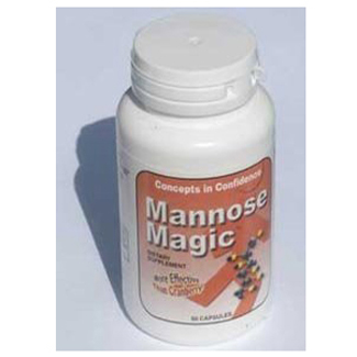 Mannose Magic - Digestive Enzyme Capsules For Relief of UTI's