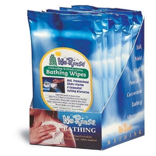 No-Rinse Bathing Wipes