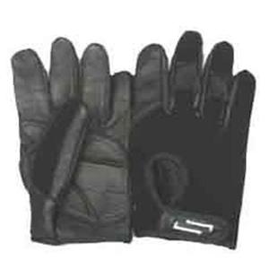 Sportaid Full Finger Leather Wheelchair Gloves