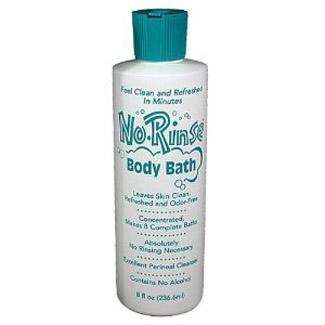 No-Rinse Body Bath with Odor Eliminator (8oz or 16oz)