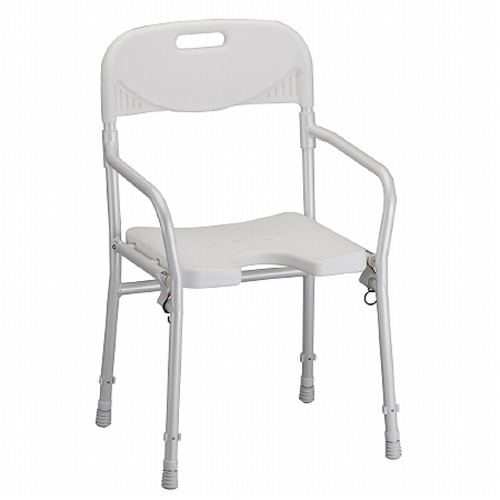 Nova Folding Shower Chair with Back on Sale with 120% Low