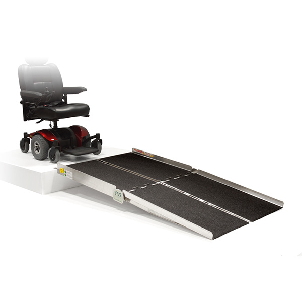 PVI Bariatric Multifold Ramps 5 - 8-ft x 36-in Wide