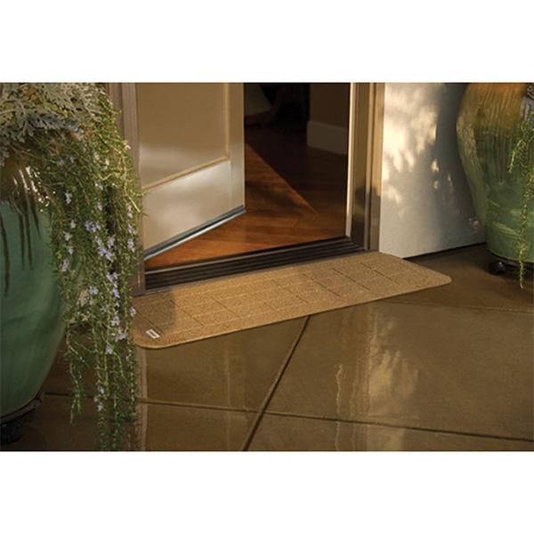 PVI Rubber Threshold - StoneCap Transition