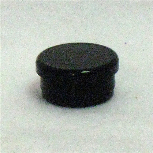 Plastic Caster Cap - Black - for Invacare /Top End