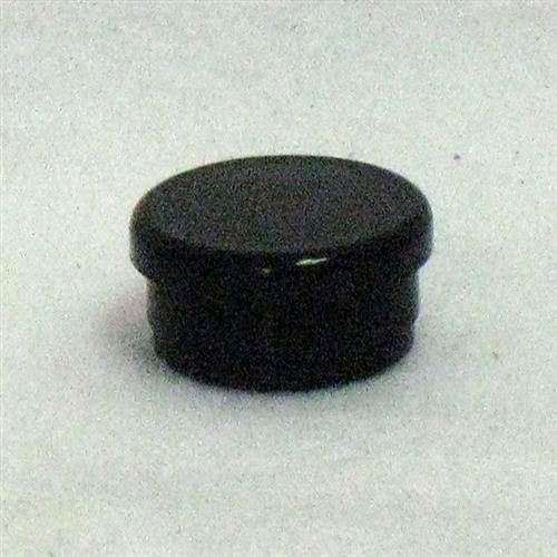 Plastic Caster Cap - Black - for Quickie