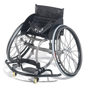 Quickie All Court Titanium Basketball Wheelchair-The King of the Court