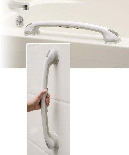 "Sure Suction Tub & Shower Bar, 24"""