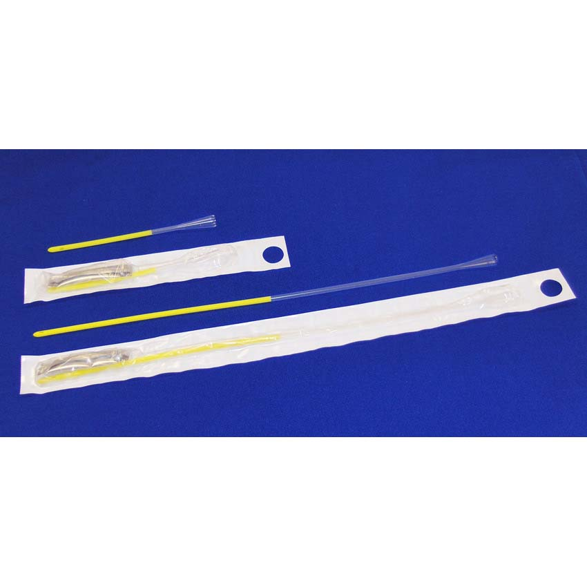 "Rochester Medical Magic3 Antibacterial + Hydrophilic Intermittent Catheters Male 16"" 12fr - 20fr"