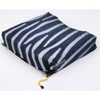 "Roho Mojo Cushion Cover - Zebra Stripes - New - 13"" wide x 13"" deep - Bargain Basement"