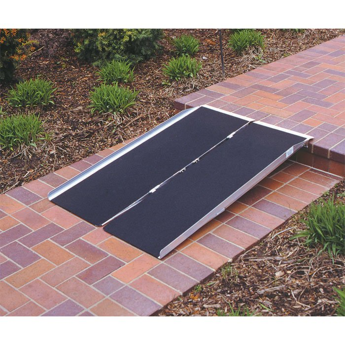 PVI Single Fold Wheelchair Ramps 2, 3, 4, 5, or 6-ft Long x 30-in Wide