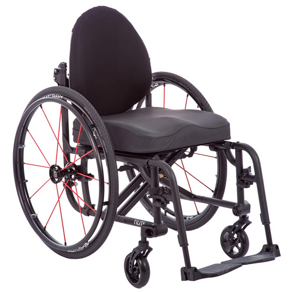 Product review of TiLite Aero X Folding Aluminum Wheelchair