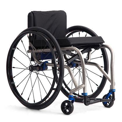 TiLite TX Series 2 Folding Titanium Wheelchair