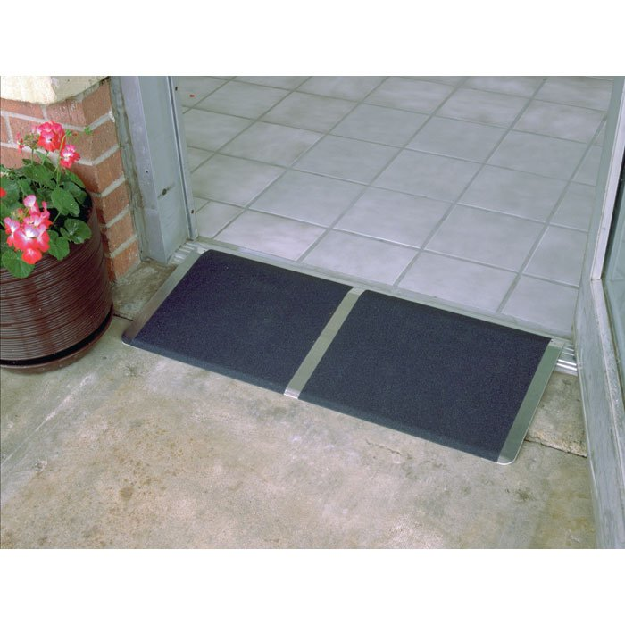 PVI Threshold Wheelchair Ramps 8, 10, 12, 16, 24-in Long x 32 or 36-in Wide