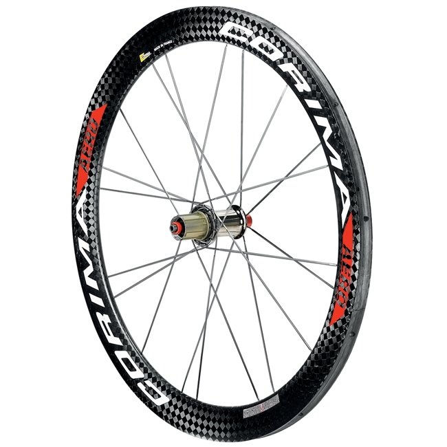 "Corima All Carbon 26"" (650c) Aero ""S"" Tubular Handcycle Wheel - Front"