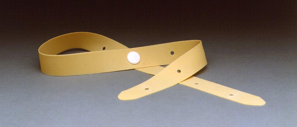 "Urocare Latex Leg Straps Size: 3/4"" wide x 21 3/4"" long"