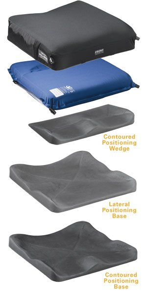 Varilite Meridian Wave Wheelchair Cushion