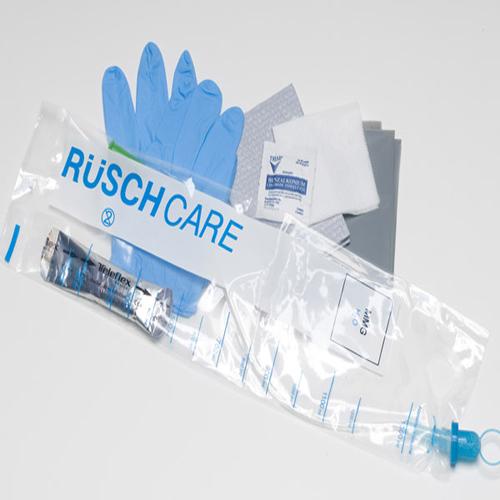 Rusch Closed System Female Catheter - Kit 14Fr