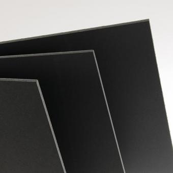 "Black Glove Rubber - 2 pieces 4"" x 5"""
