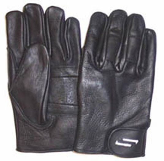 Sportaid Full Finger Leather Gloves - Thinsulate Insulation