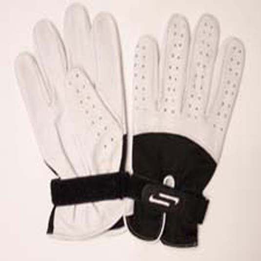 Sportaid Full Finger Leather Handball Gloves