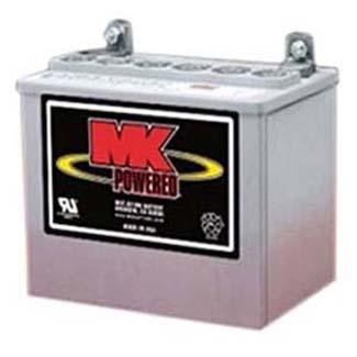 MK U-1 Sealed Gel Battery Pair