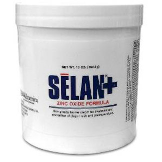 SELAN+ Zinc Oxide Barrier Cream 16oz